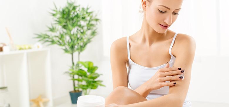 Peeling και ενυδάτωση σώματος